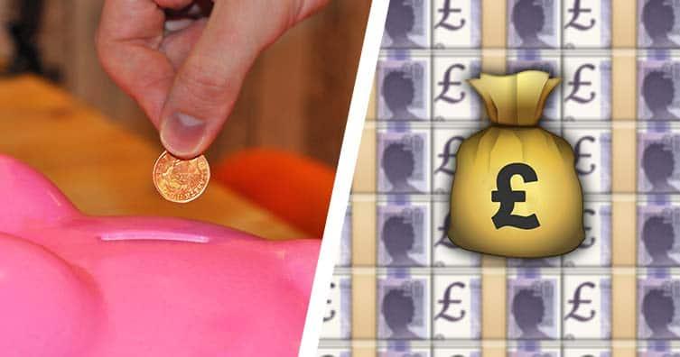 easiest way to save money 1p challenge