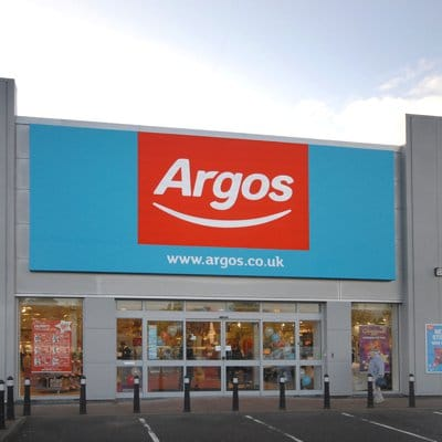 Argos on the high street